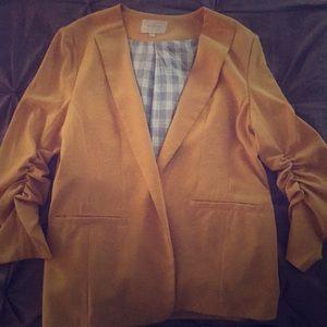 Yellow suit jacket